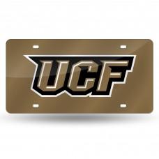 University of Central Florida Gold Laser License Plate