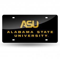 Alabama State Laser License Plate