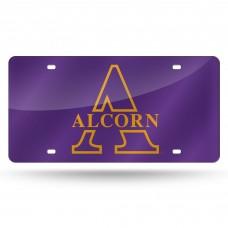 Alcorn State Laser License Plate