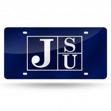 Jackson St Tigers Laser License Plate