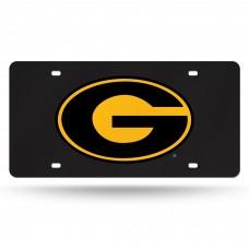 Grambling State Black Laser License Plate
