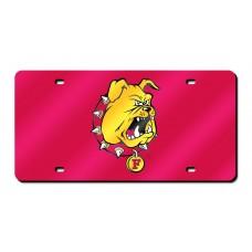 Ferris State University Laser License Plate