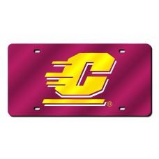 Central Michigan Laser License Plate