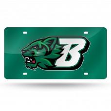 Binghamton University Laser License Plate