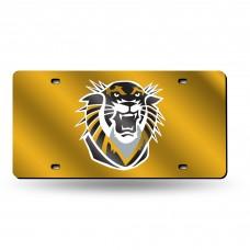 Fort Hays State Laser License Plate