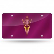 Arizona State Sun Devils Laser License Plate