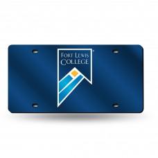 Fort Lewis Laser License Plate