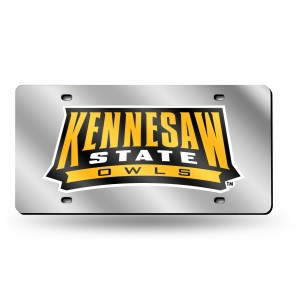 Kennesaw State Silver Laser Georgia License Plates