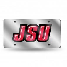 Jacksonville State Silver Laser License Plate