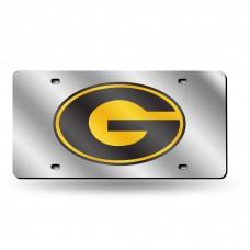 Grambling State Silver Laser License Plate