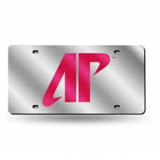 Austin Peay State Silver Laser License Plate
