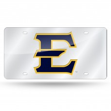 East Tennessee State Silver Laser License Plate