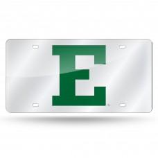 Eastern Michigan Silver Laser License Plate