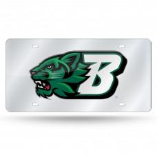 Binghamton Silver Laser License Plate