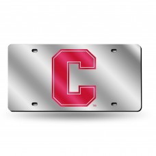 Cornell Silver Laser License Plate