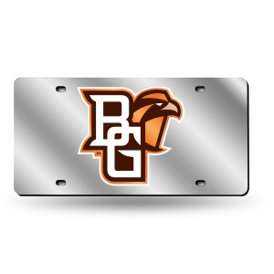 Bowling Green Silver Laser Ohio License Plate