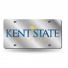 Kent St Silver Laser License Plate