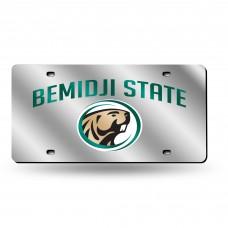 Bemidji Silver Laser License Plate