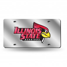 Illinois St Silver Laser License Plate