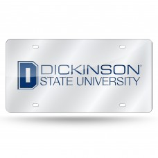 Dickinson State Laser License Plate