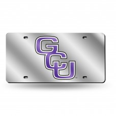 Grand Canyon University Silver Laser License Plate