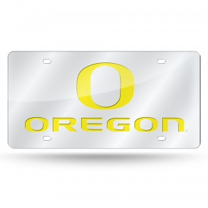 Oregon Silver Laser Oregon License Plate
