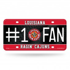 Louisiana Lafayette Ragin Cajuns License Plates
