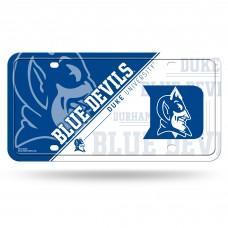 Duke Blue Devils Metal License Plate