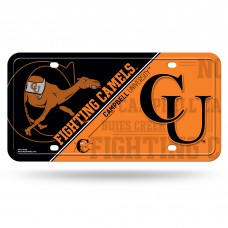 Campbell University Metal License Plate
