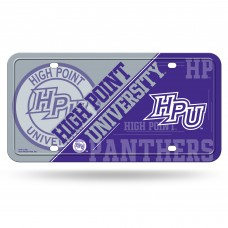 High Point Metal License Plate