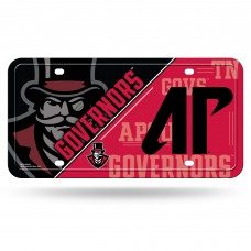 Austin Peay State Governers Metal License Plate