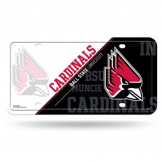 Ball State Metal License Plate