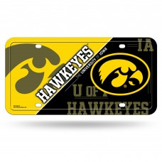 Iowa Metal License Plate
