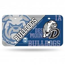 Drake University Bulldogs Metal License Plate