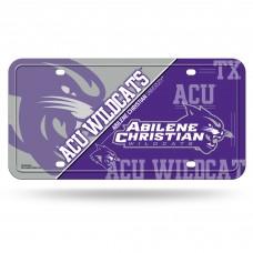 Abilene Christian Wildcats Metal License Plate