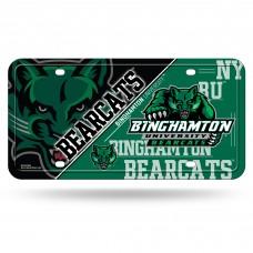 Binghamton Bearcats Metal License Plate