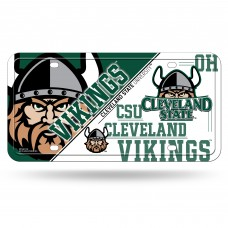 Cleveland St Metal License Plate
