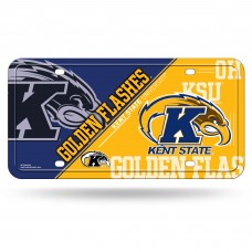 Kent St Metal License Plate