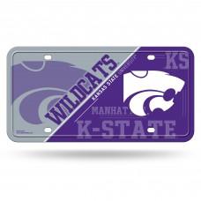 Kansas State Metal License Plate