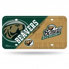 Bemidji Beavers Metal License Plate