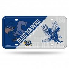 Dickinson State Blue Hawks Metal License Plate