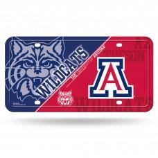Arizona Wildcats Metal License Plate