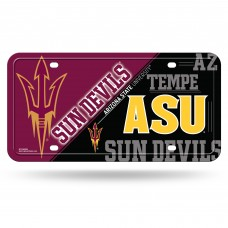 Arizona State Sun Devils Metal License Plate