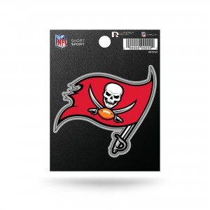 BUCCANEERS SHORT SPORT STICKERS