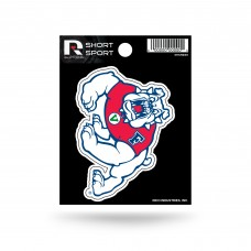 FRESNO STATE SHORT SPORT DECAL