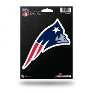 NEW ENGLAND PATRIOTS MEDIUM DIE CUT STICKERS
