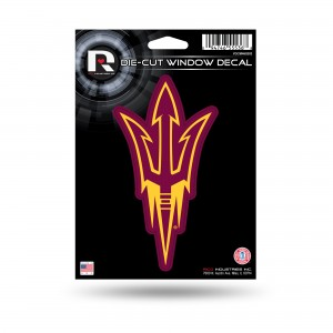 ARIZONA STATE MEDIUM DIE CUT DECAL