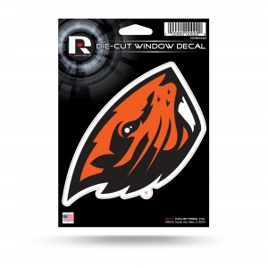 OREGON STATE BEAVER MEDIUM DIE CUT DECAL