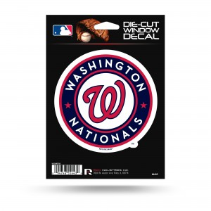 WASHINGTON NATIONALS MEDIUM DIE CUT STICKERS