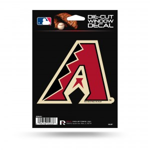 ARIZONA DIAMONDBACKS MEDIUM DIE CUT STICKERS